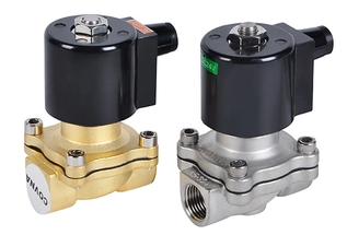 high quality stainless steel 1/2inch operated solenoid valve for water air gas oil