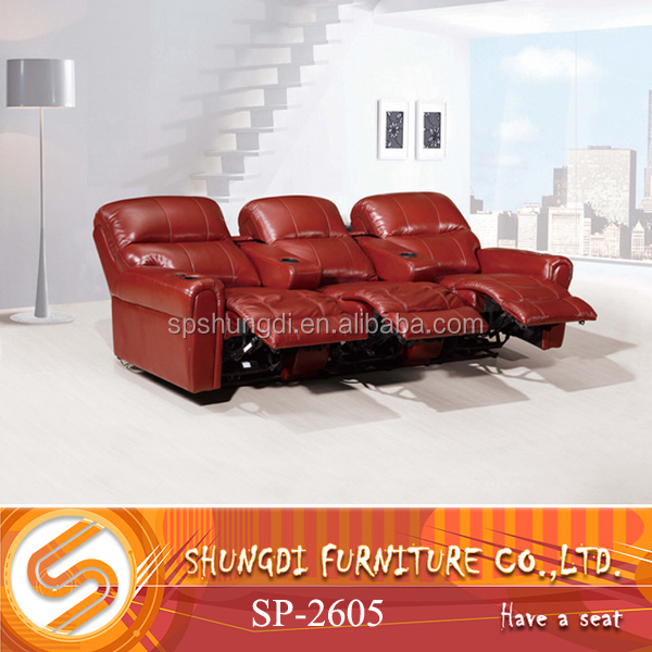 Shungdi SOFA SP-2605 Leather Functional sofa