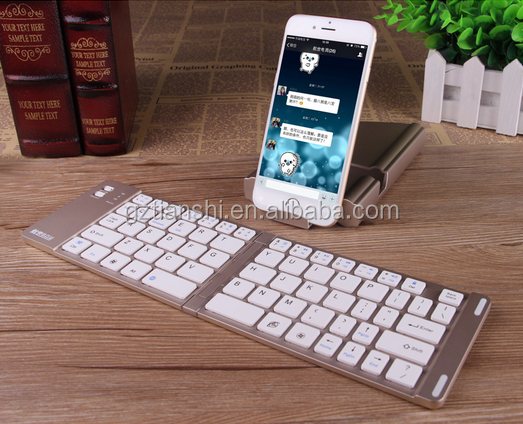 3.0 standard foldable bluetooth keyboard for computer phone