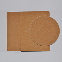 Factory direct sale natural cork coaster and cork mat