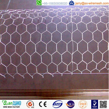 16 gauge galvanised hexagonal wire mesh for chicken cage in china