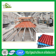 Red white golden decorating synthetic resin roof tile building materials Foshan roof fixings