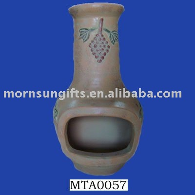 quality clay chiminea