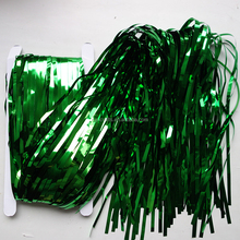 Green Metallic Foil Curtain Tinsel Curtains Party Decorations 92cm x 245cm