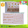 turn and learn shape sorter wooden educational toys OEM learning developmental toy for preschoolers tactile wooden game MDD-1