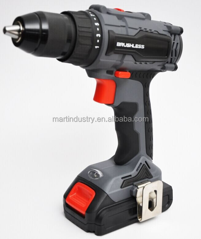 High Quality CD86 18V Brushless Motor Lithium Cordless Drill