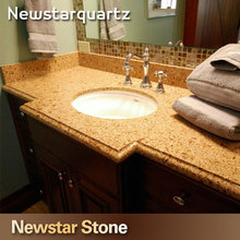 Sunflower yellow quartz stone quartz crystal countertops