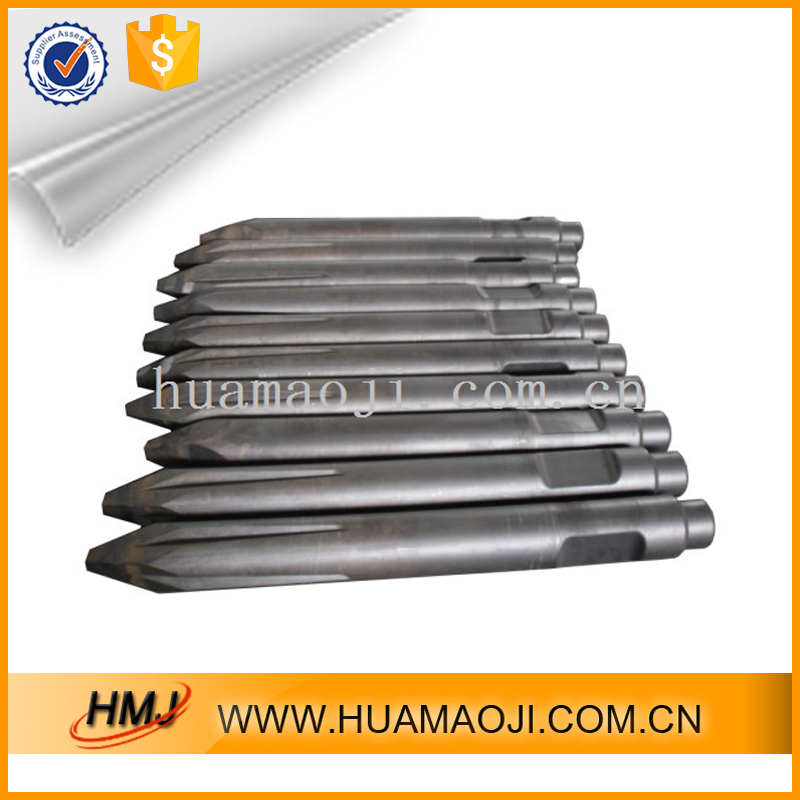 Low MOQ round shank chisel and holder for auger construction & real estate