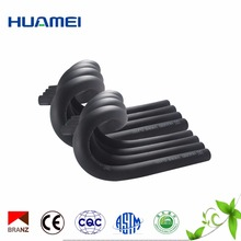 Soft rubber foam insulation pipe / tube for air conditioning
