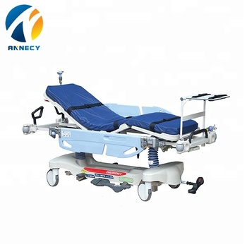 AC-ST022 New design medical luxurious hydraulic patient transfer Stretcher trolley medical prices