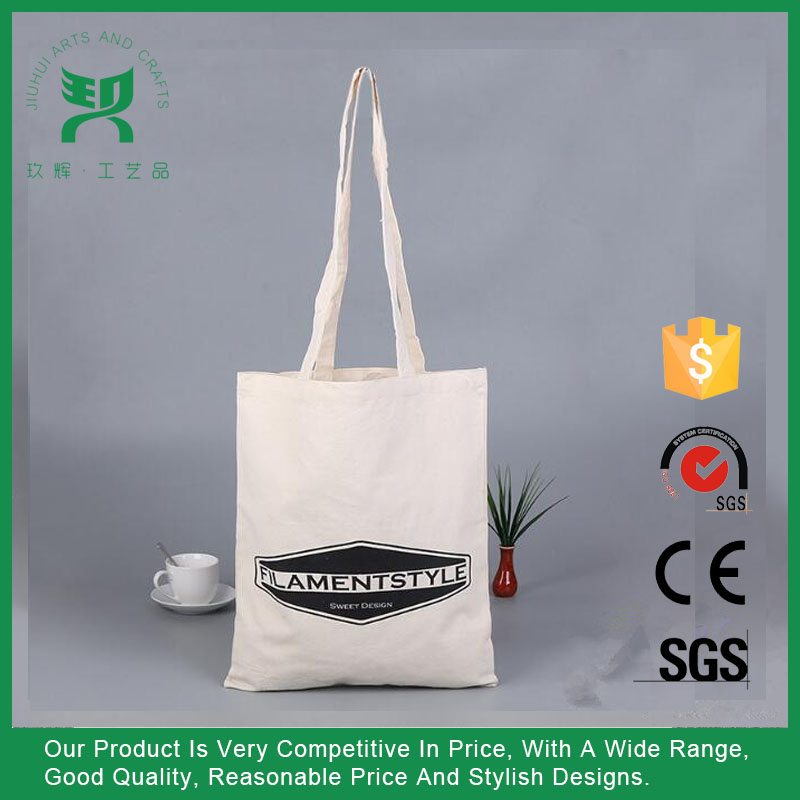 Shopping canvas chevron tote bag wholesale