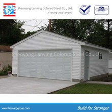 Steel Structure Flat Roof Metal Shed For Boats And Garage