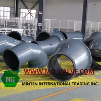 Mine&Power plant Rubber lined hose