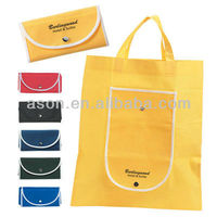 foldable nonwoven shopping bag