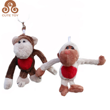 Plush Keychain animal Monkey toys stuffed small soft toys