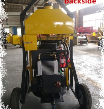 Automatical manhole round cutter equipement airport road pavement construction machine