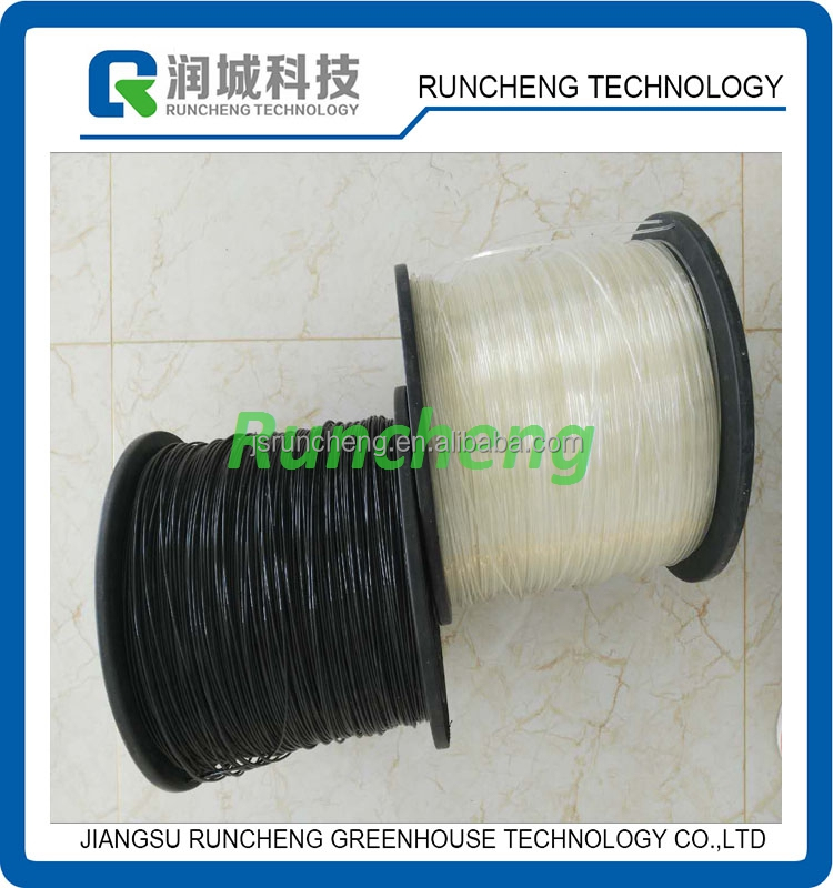 black/white/transparent 2.0mm/2.2mm/2.5mm/3.0mm/3.5mm/4.0mm polyester wire PET wire