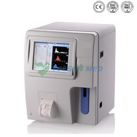 full automatic medical hematology analyzer veterinary blood cell counter