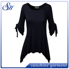 Lady Wholesale Tunic Tops New Fashion Long Sleeve Tunic Dress