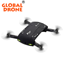 Upgraded ELFIE Voice-Control Foldable Air Selfie Drone X20 RC Pocket Quadcopter Mini Drone Wifi FPV HD Camera Dron VS JJRC H37