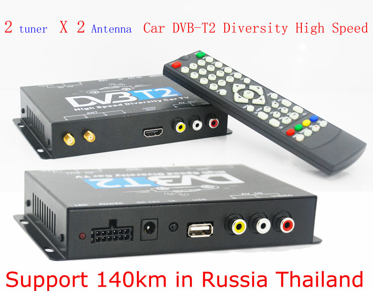 wifi display dongle miracast DVB-T22 Siano DVB HDTV Car Box DVB T2 Receiver For Car