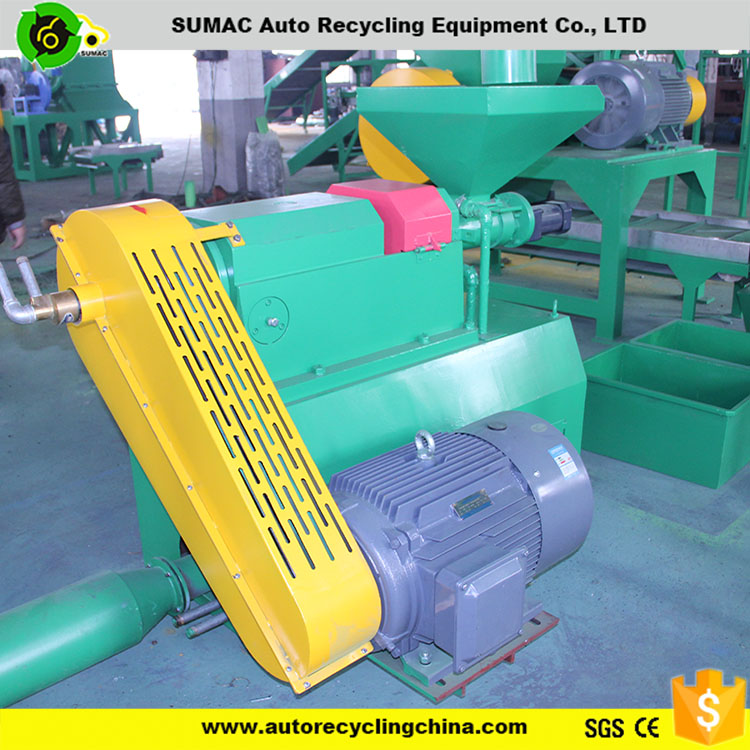 waste tire grinding machine/rubber recycled crusher for sale