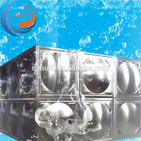 Factory price!! Dezhou Huili high quality stainless steel portable sectioanl panel water tank