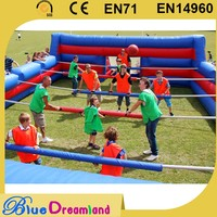 Chinese cheap inflatable football table with low price