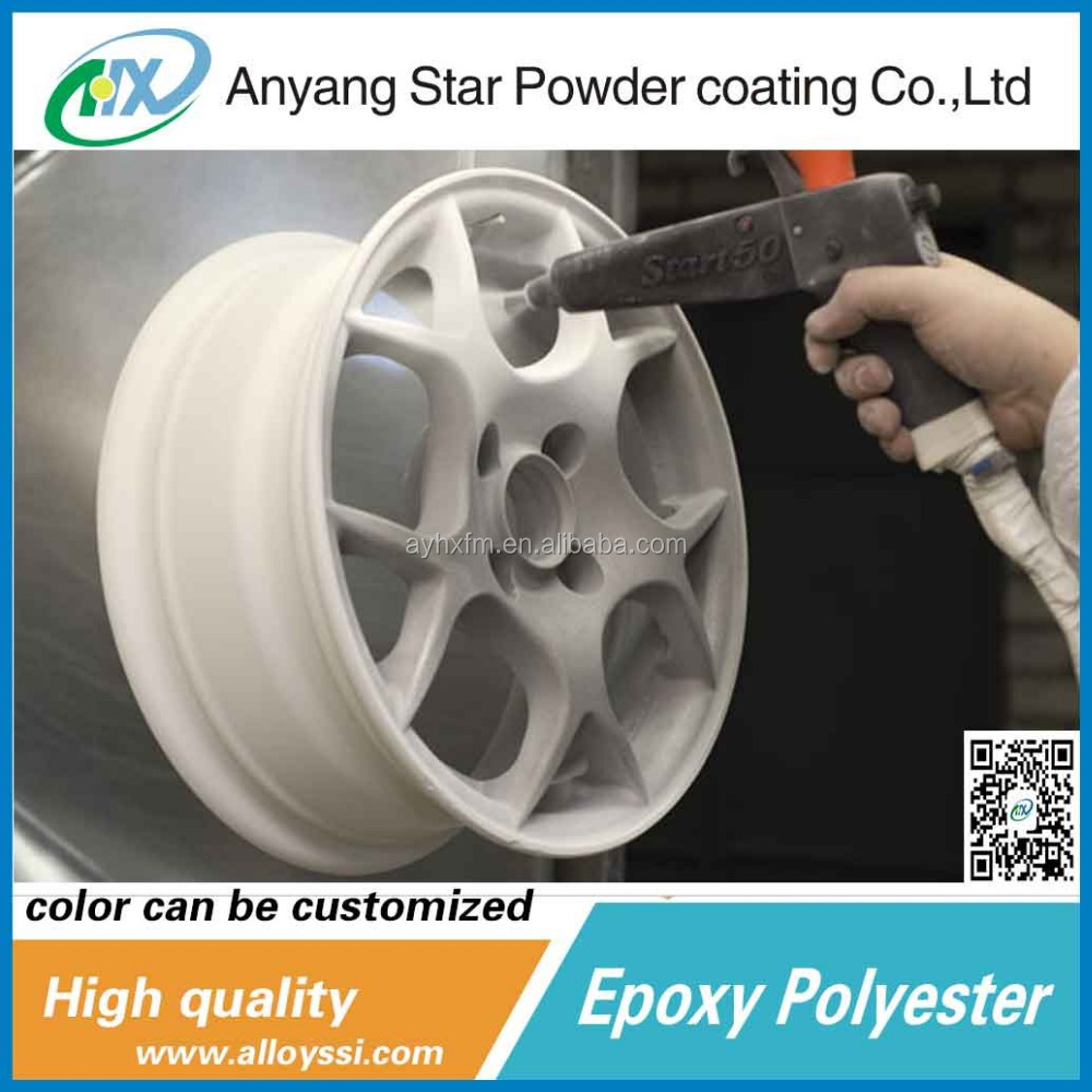 Anyang Star road fence epoxy-polyester good corrosion protection powder coating