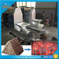 2016 Hot Popular BBQ Biomass /Waste Wood Sawdust Briquette Charcoal Machine