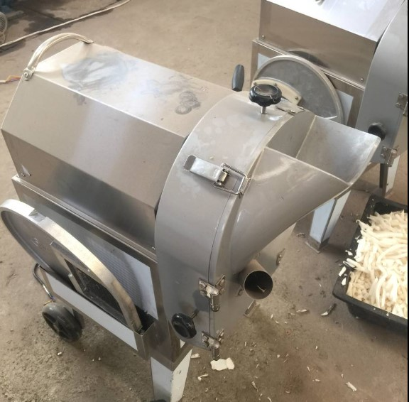 High Output Garlic Vegetable Cutter Machine for ginger