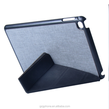 Standing leather case for ipad mini 4