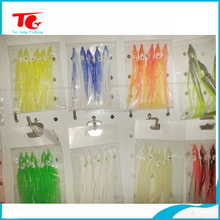 top quality wholesale price soft plastic squid lure Octopus Lure Skirt