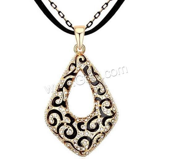 Zinc Alloy Other Shape Fashion Metal Enamel Necklace 845912