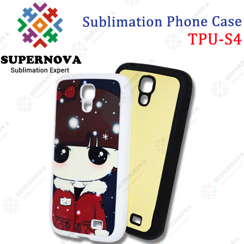 Sublimation Cover Case for Samsung i9500 (Galaxy S4)