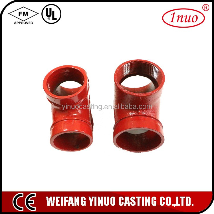 UL and FM Certificates Grooved cross clamp
