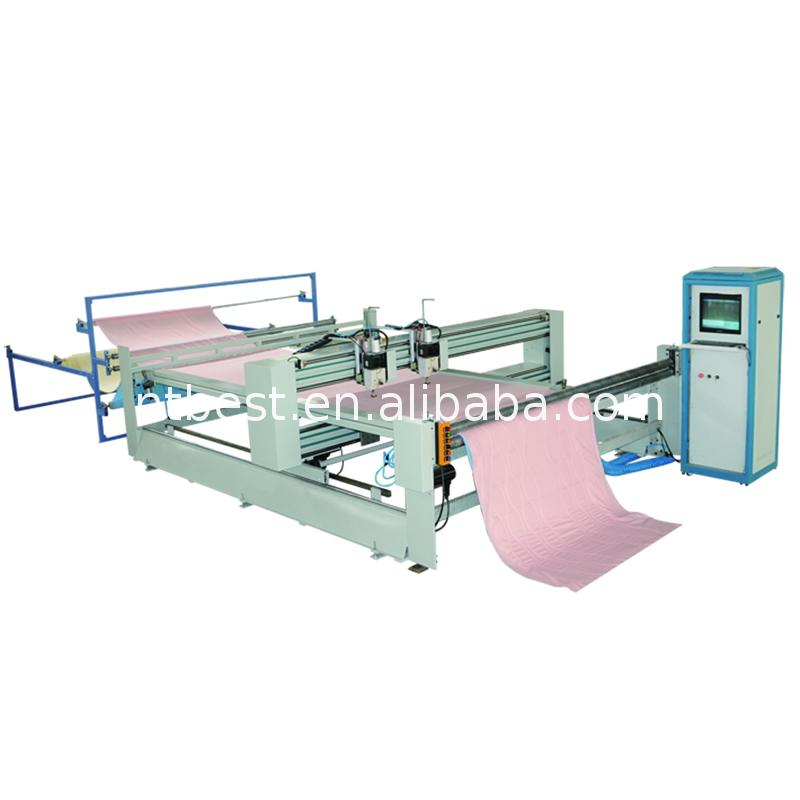 BST-8-2C electric multi needle cotton wadding quilting machine
