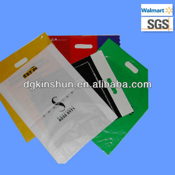 HDPE/LDPE plastic film bag