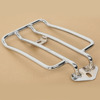 Chrome Solo Seat Luggage Support Shelf Rack For XL Sportsters 04-16 13