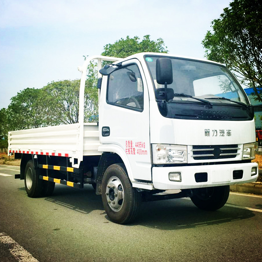 3 to 5 ton CLW light duty flatbed cargo truck for sale