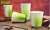 Compostable PLA coffee paper cup