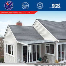Corrosion Resistant Perforated Nigeria Gray Roof Tiles, Stone Coated Corrugated Tile Steel Roofing Sheet