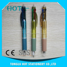 Hot selling Cheap promotional high quality multi color pen