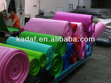 Wholesale thin color craft goma eva foam sheets/roll (manufacturer)