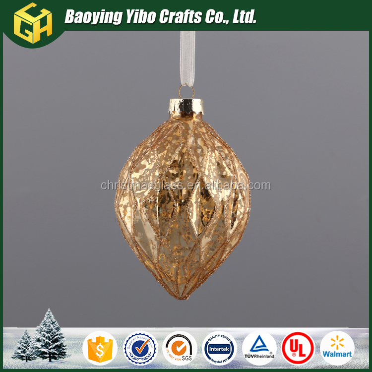 New product Promotion glass christmas baubles
