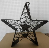 Crafts Gifts Country Style Home Decor Handmade Ornaments Western Metal Texas Star Metal Wall Art