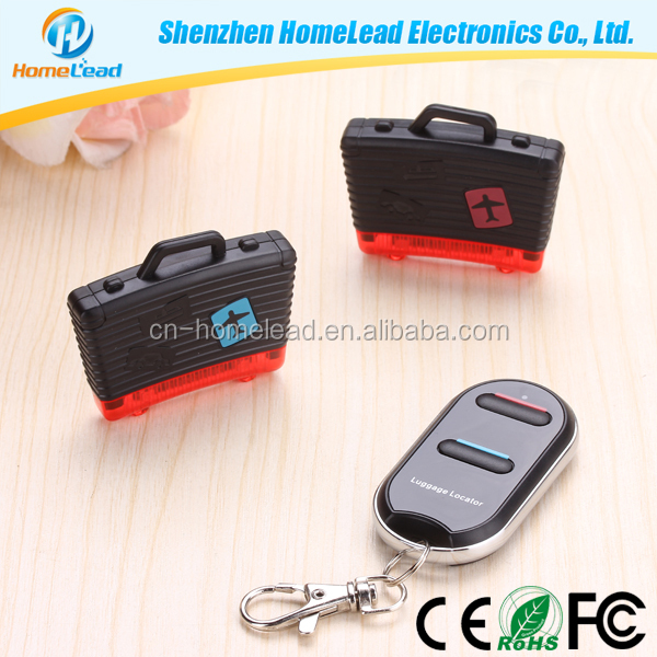New Arrival Anti Lost Alarm Electronic Gadgets New For 2015 Luggage Locator With Keychain