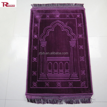 cheap price memory foam muslim prayer mat