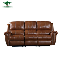 Modern Leather Living Room Sofa Furniture Recliner Chairs