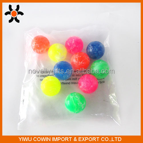 Multi color Different Size fashion wholesale Rubber Bouncing Ball For Vending Machine